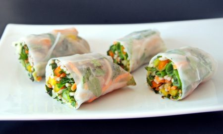 Vegan Spring Roll Recipe